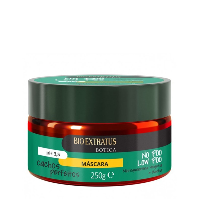 Máscara Bio Extratus No Poo Low Poo 250g
