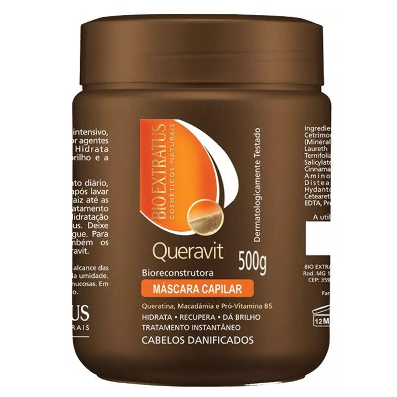 Máscara de Hidratação Bio Extratus Queravit 500g