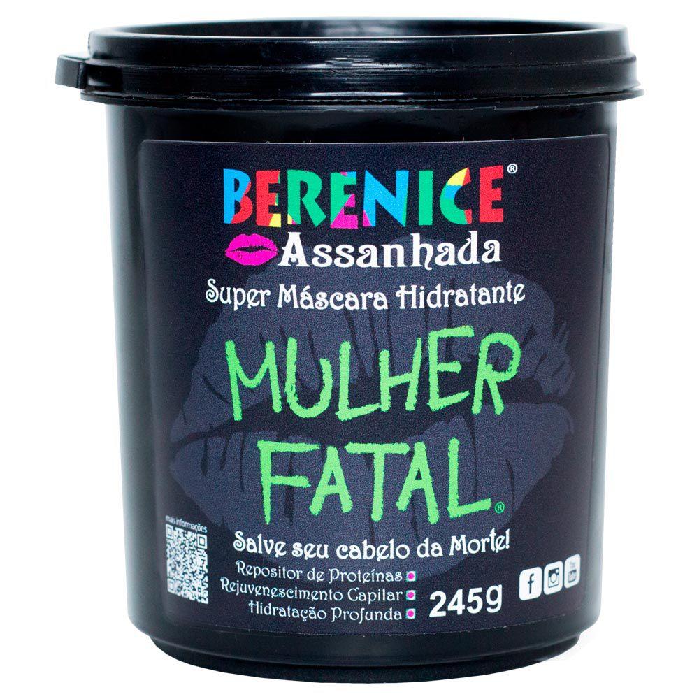 Máscara de Hidratação Mulher Fatal Berenice Assanhada 245 gr