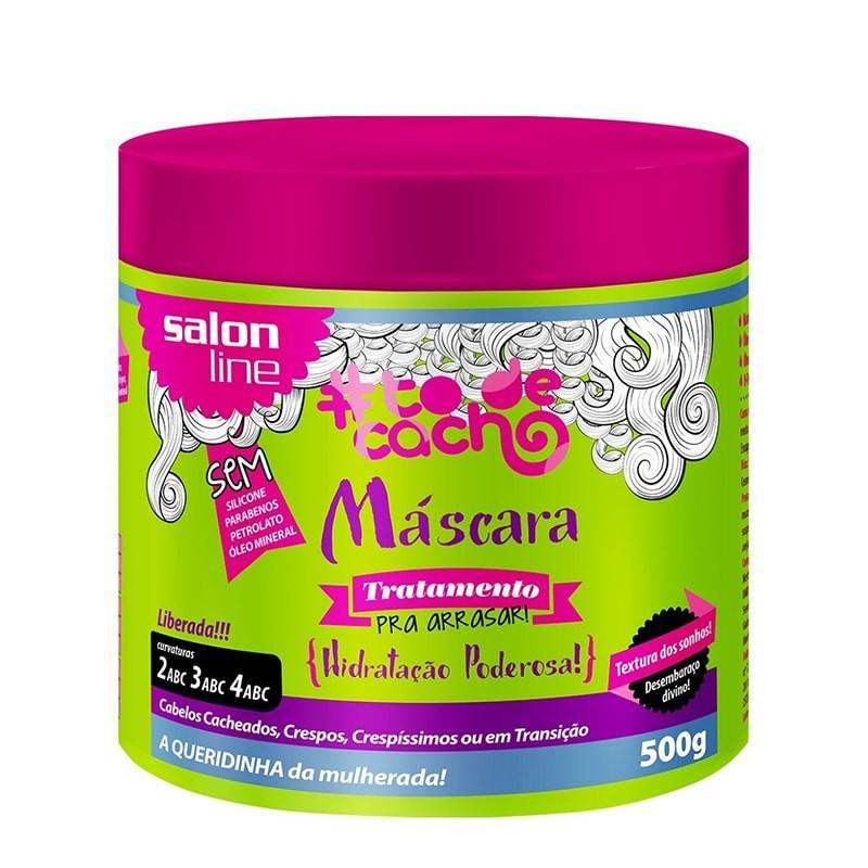 Máscara Salon Line #ToDeCacho Pra Arrasar 500g