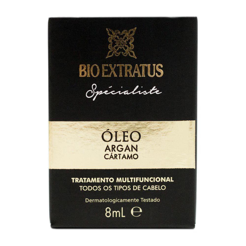 Óleo Reparador de Pontas Bio Extratus Argan e Cártamo 8 ml