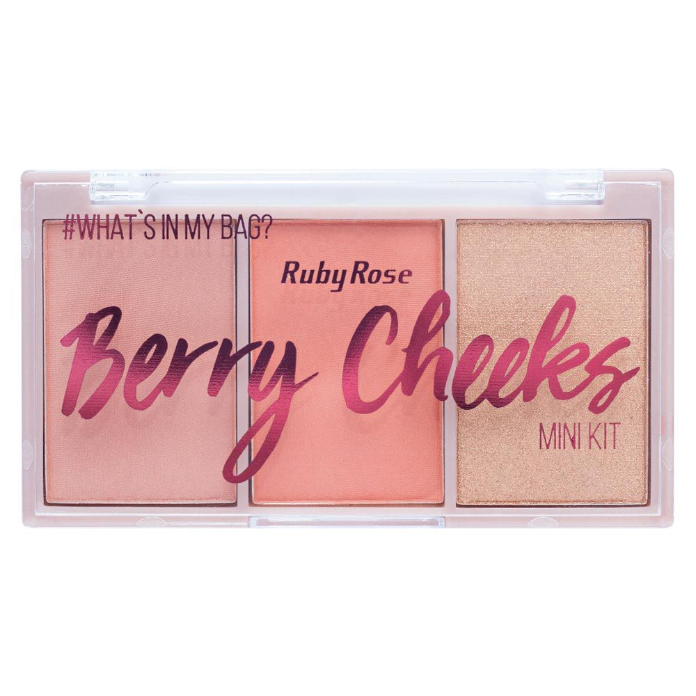 Paleta de Blush Berry Cheeks Cor 04