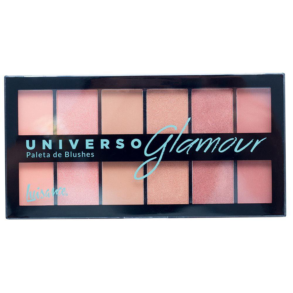 Paleta de Blush Luisance Universo Glamour