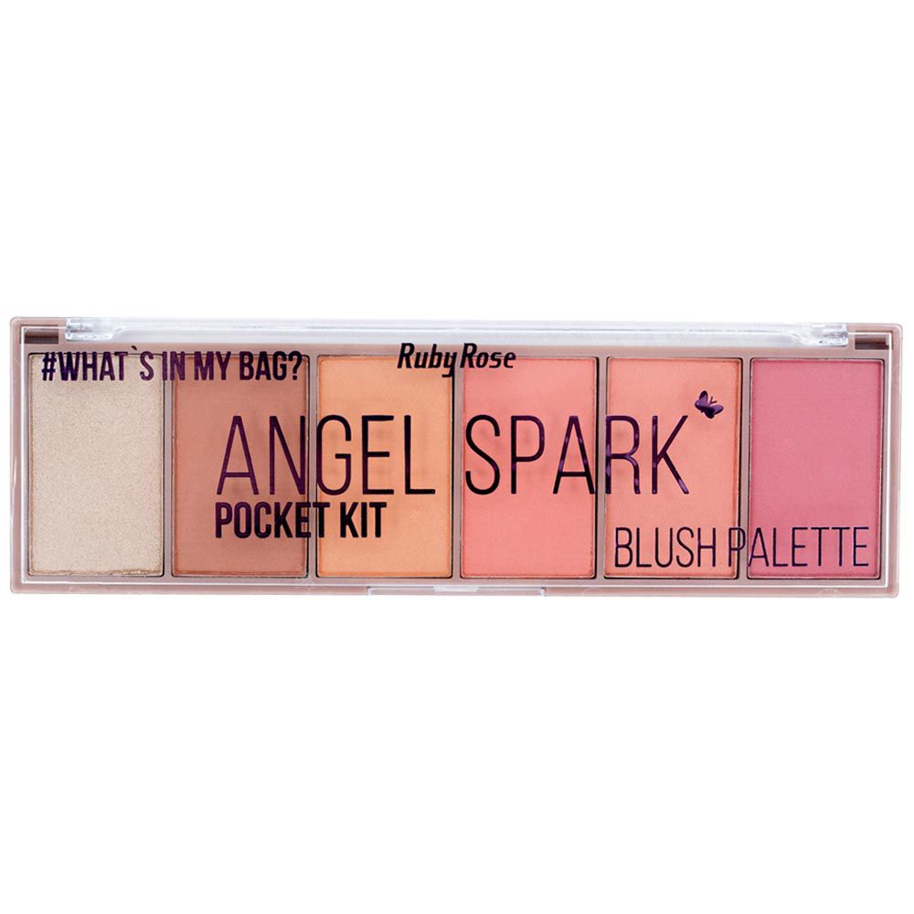 Paleta de Blush Pocket Ruby Rose Angel Spark