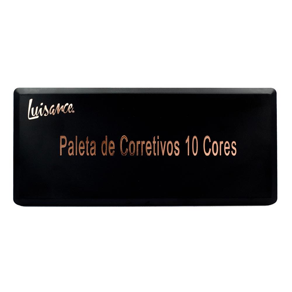 Paleta de Corretivo Luisance com 10 Cores