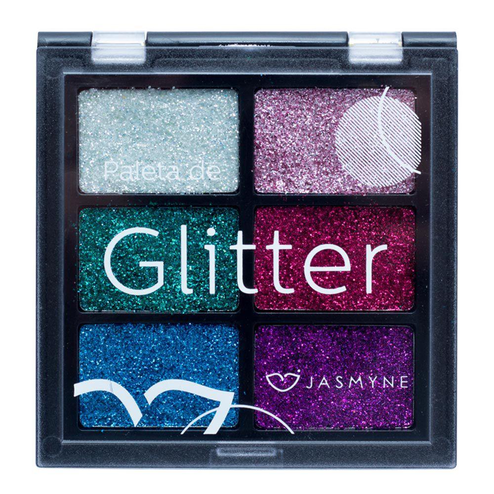 Paleta de Glitter Jasmyne Cor A