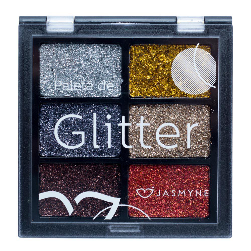 Paleta de Glitter Jasmyne Cor B
