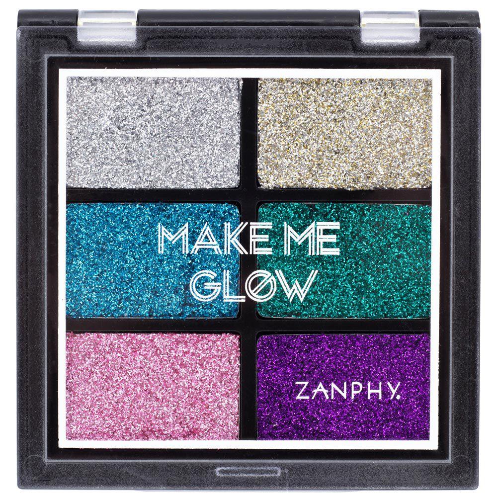 Paleta de Glitter Zanphy Make Me Glow 01