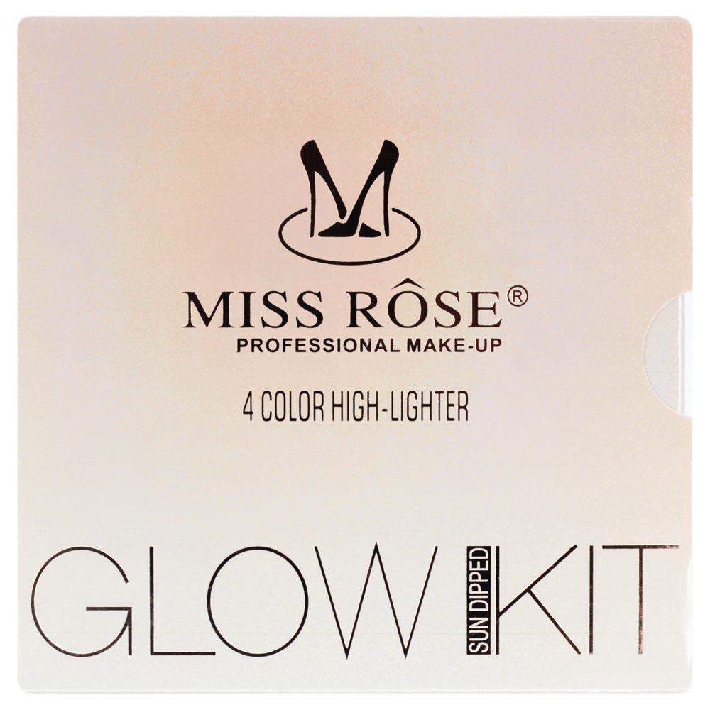 Paleta de Iluminador Miss Rôse Glow Kit Sun Dipped