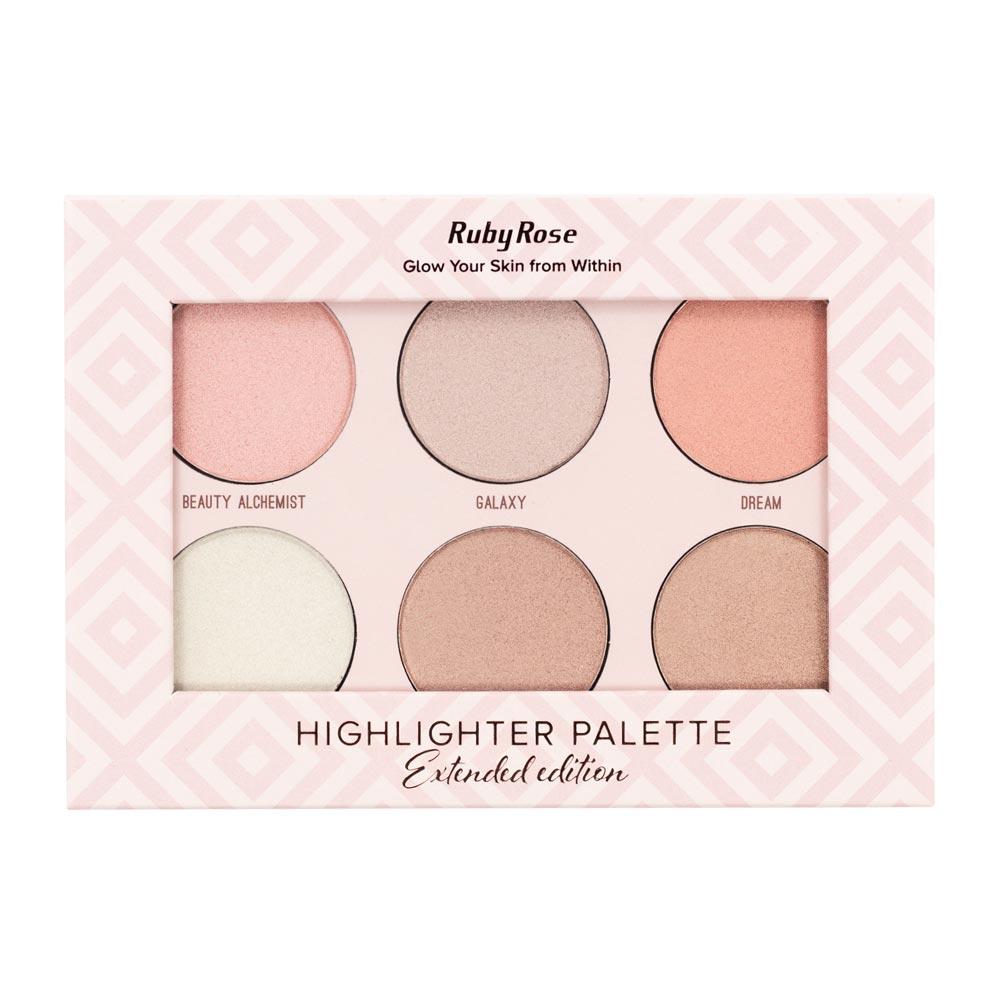 Paleta de Iluminador Ruby Rose Highlighter Palette