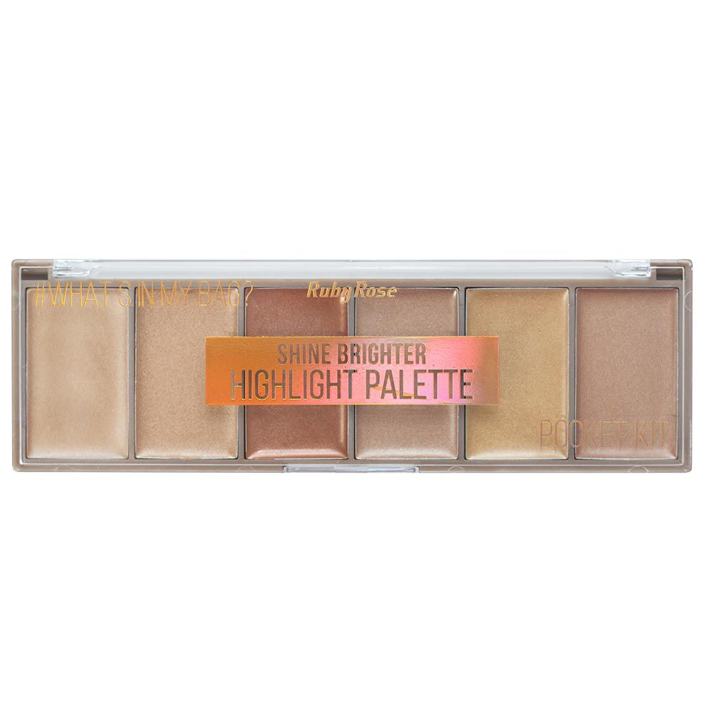 Paleta de Iluminador Ruby Rose Shine Brighter