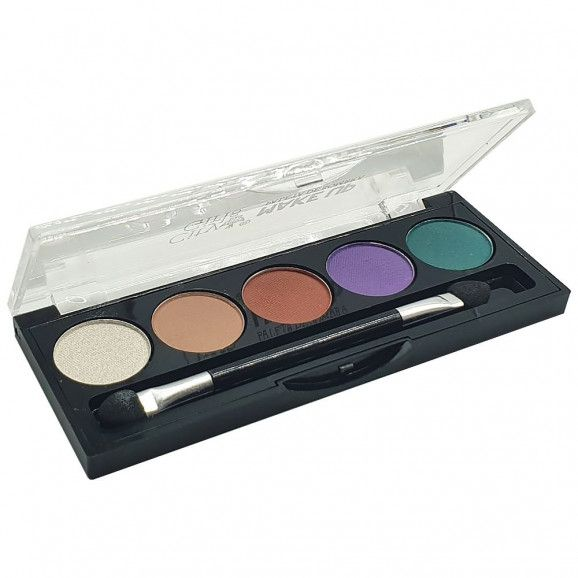 PALETA DE SOMBRA CITY GIRLS MAKE UP COR C
