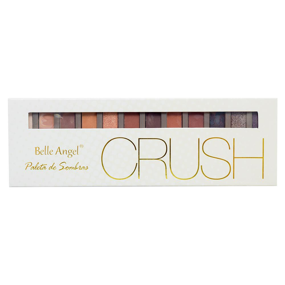 Paleta de Sombra Crush Bege Belle Angel