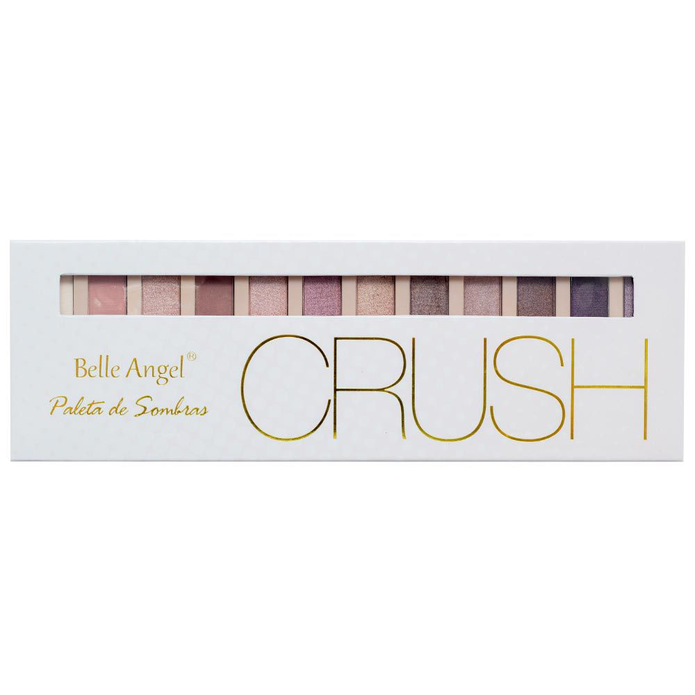 Paleta de Sombra Crush Nude Belle Angel