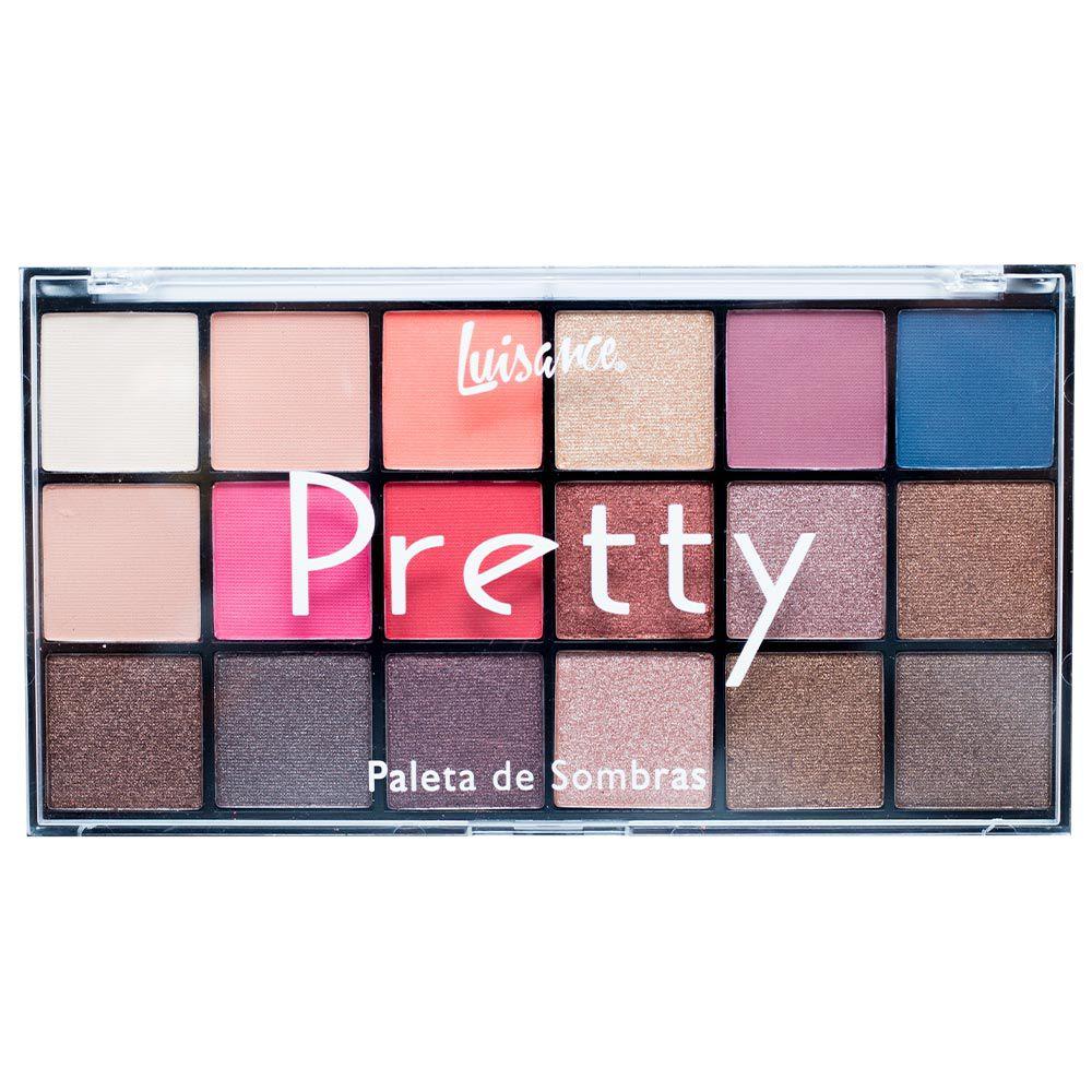 Paleta de Sombra Luisance Pretty A
