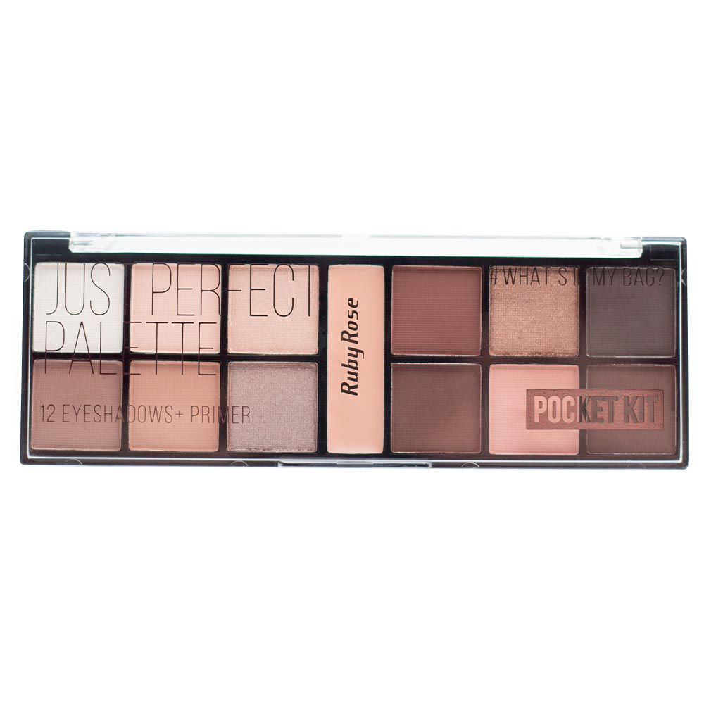 Paleta de Sombra Ruby Rose Pocket Just Perfect