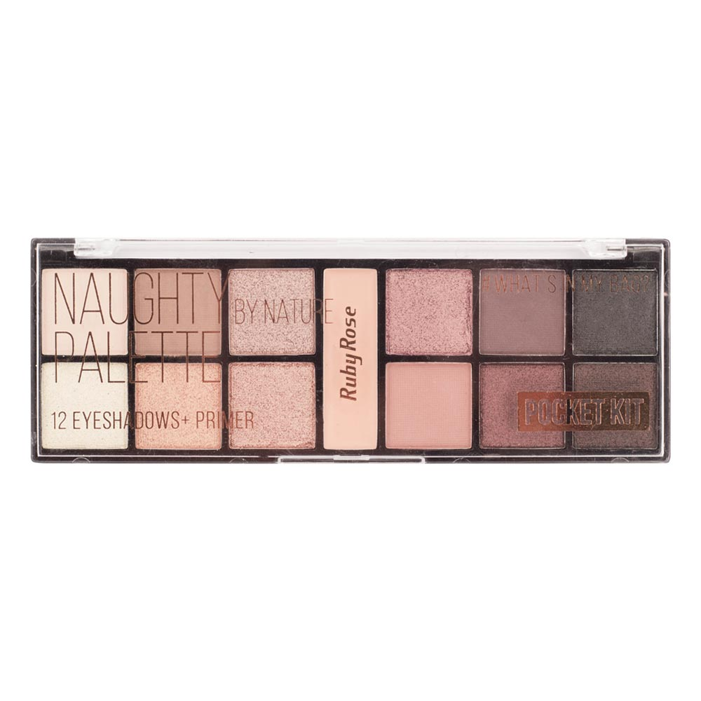 Paleta de Sombra Ruby Rose Pocket Naughty By Nature
