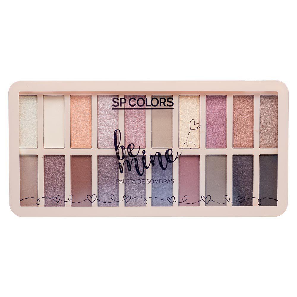 Paleta de Sombra SP Colors Be Mine B