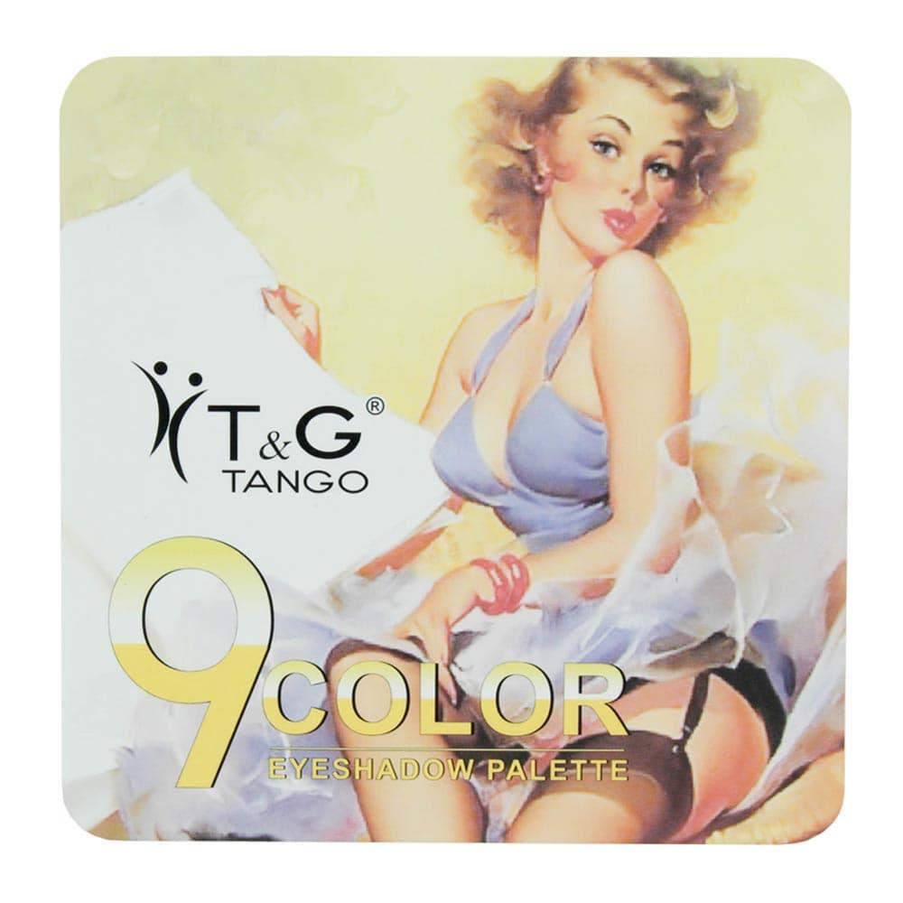Paleta de Sombra Tango 9Color Amarela