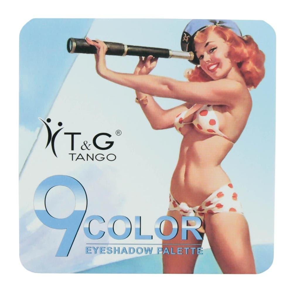 Paleta de Sombra Tango 9Color Azul