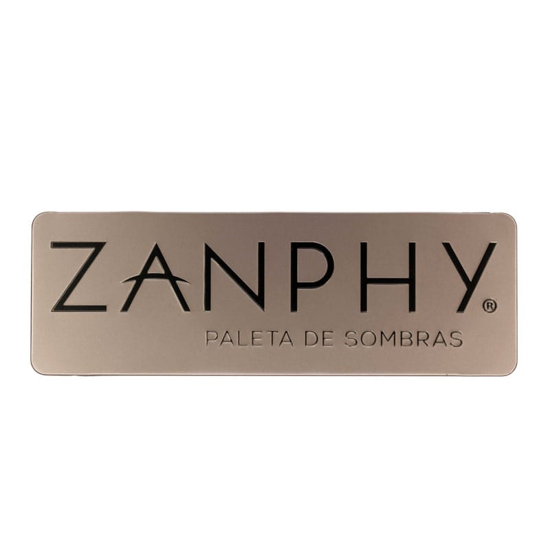 Paleta de Sombra Zanphy Metallic Nude