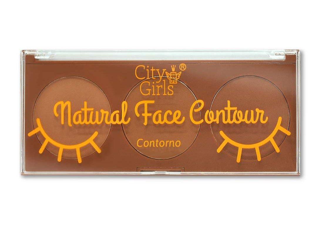 Paleta Natural Face Contour City Girls