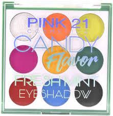 Paleta Pink 21 Candy Flavor Fresh Mint