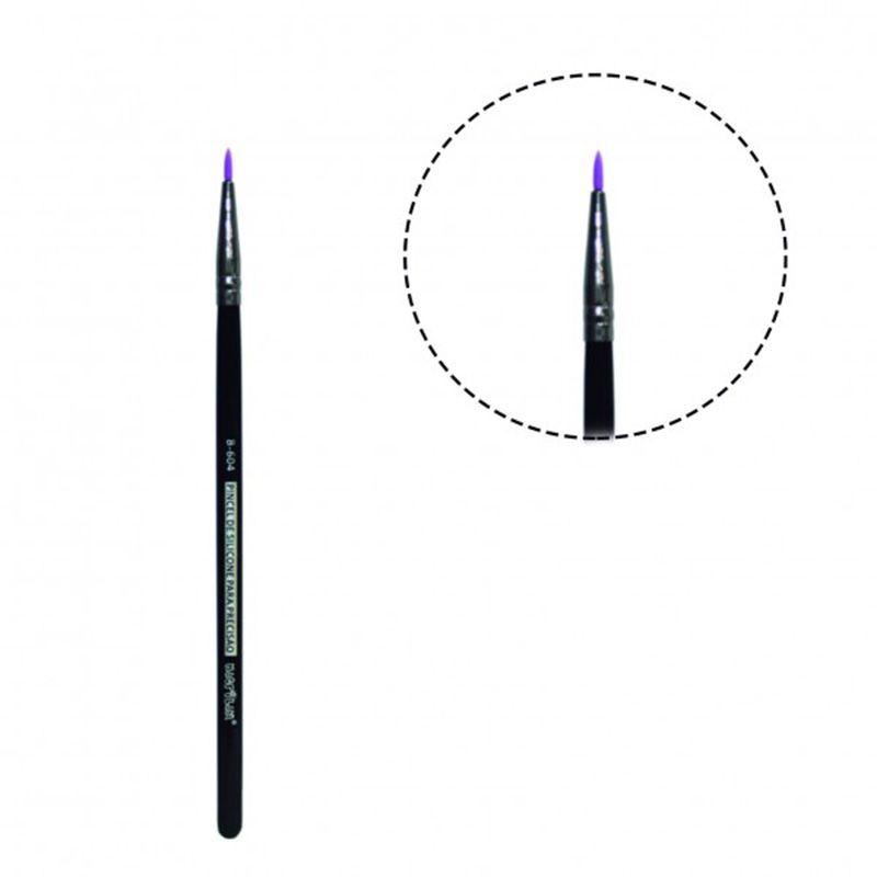 Pincel de Silicone Para Precisão Macrilan Linha B B604