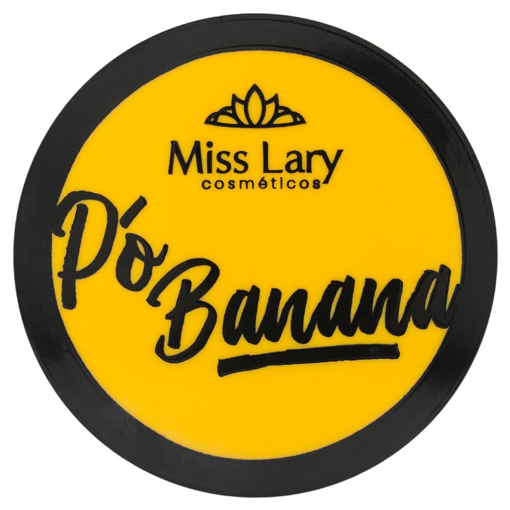 Pó Facial Banana Miss Lary