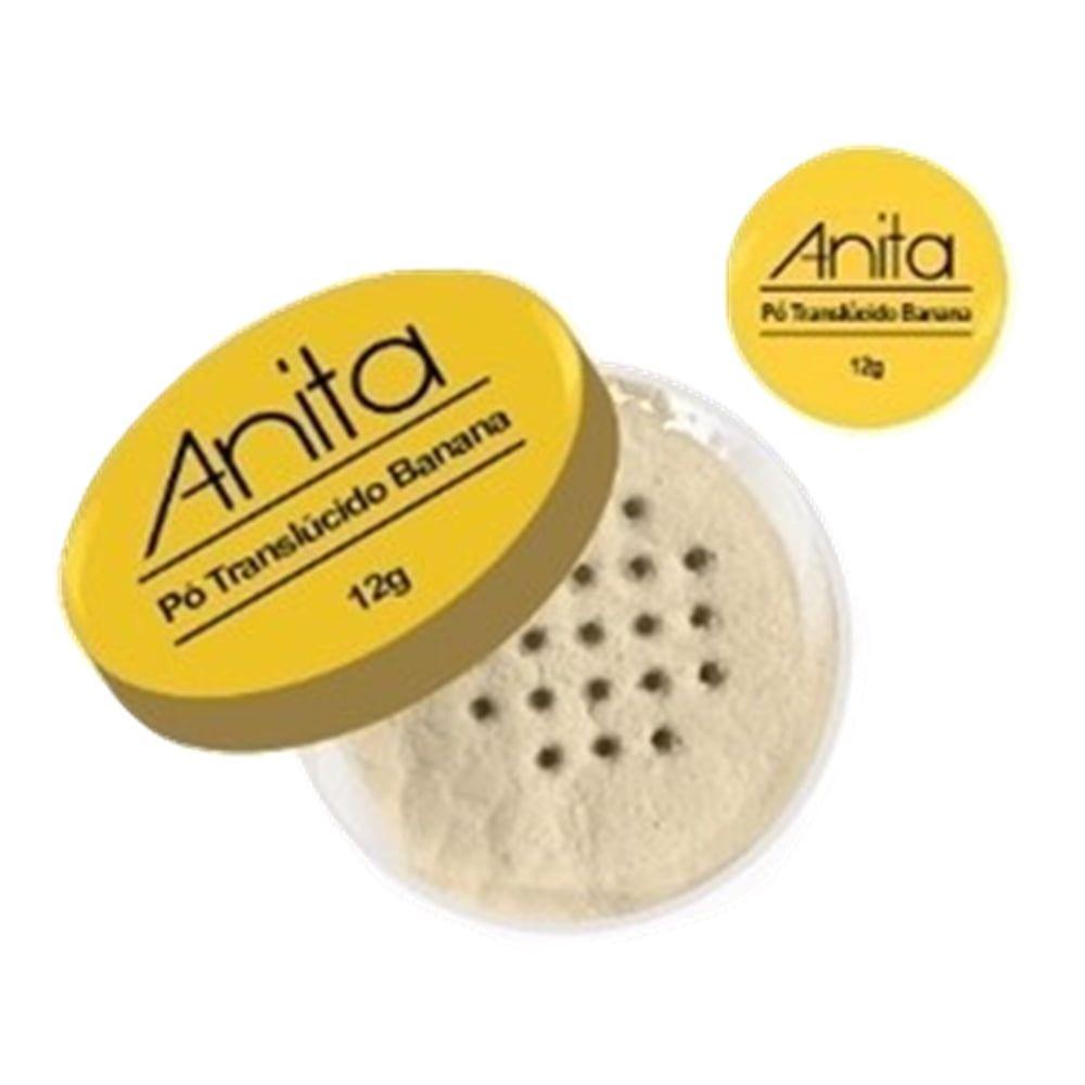 Pó Facial Translúcido Banana Anita