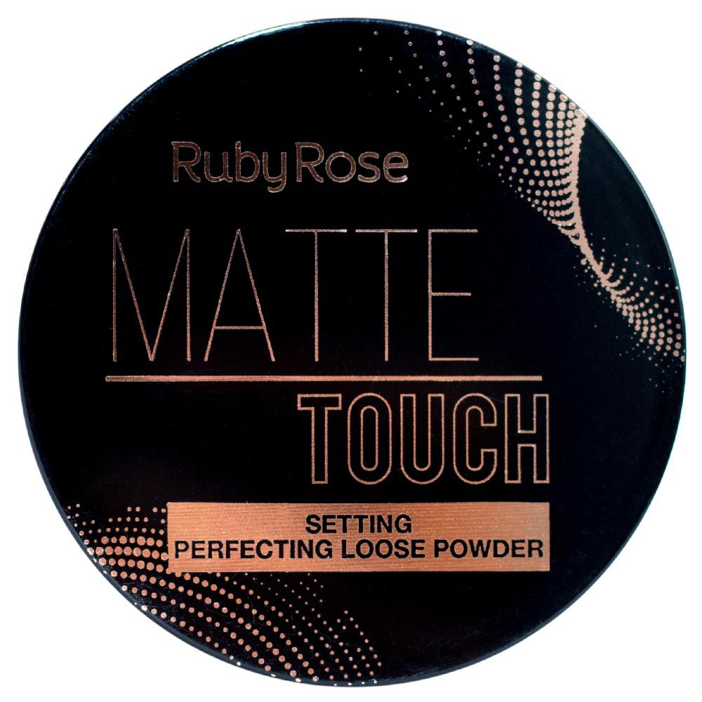 Pó Solto Ruby Rose Matte Touch