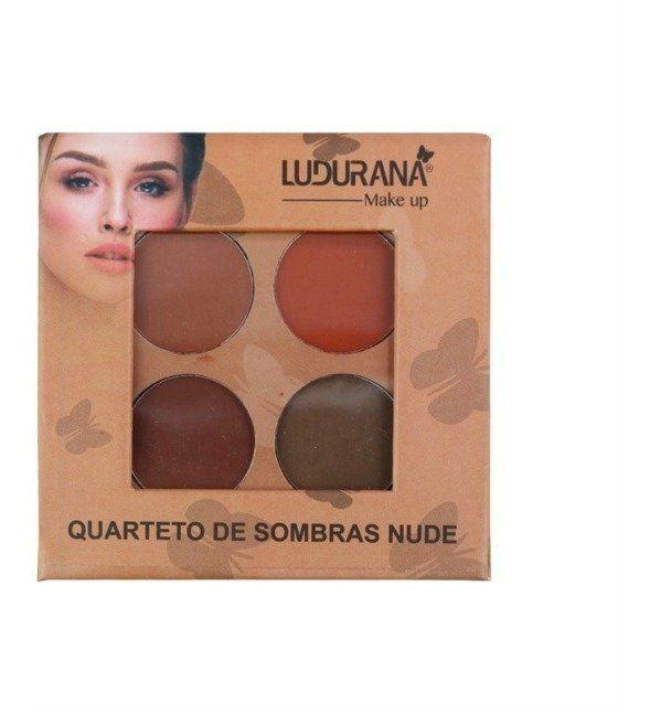 Quarteto de  sombras nude Ludurana