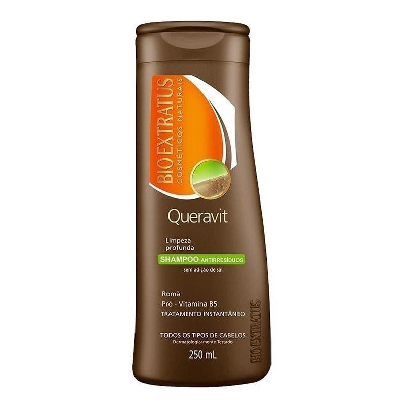 Shampoo Antirresíduos Bio Extratus Queravit 250ml
