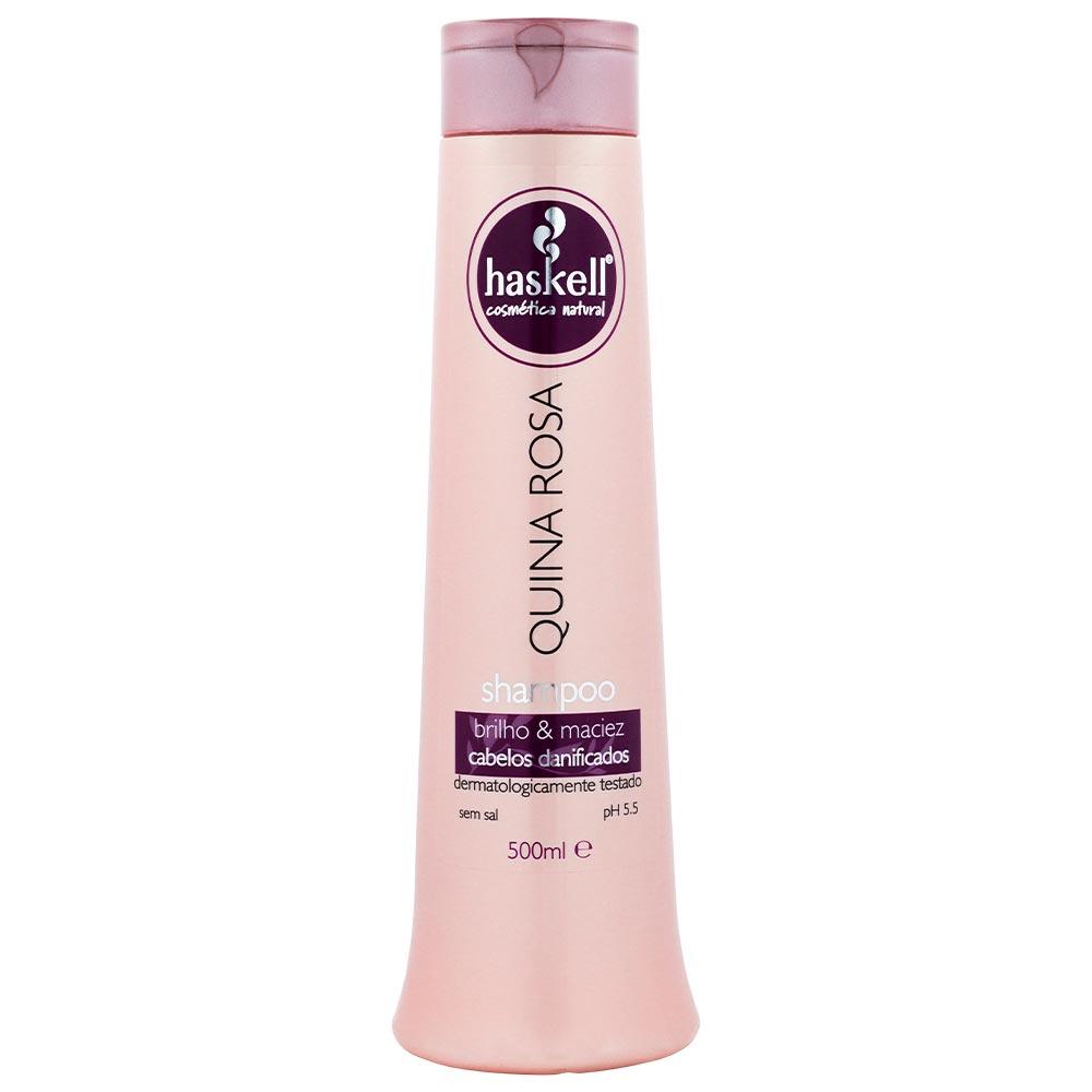 Shampoo Haskell Quina Rosa 500 ml