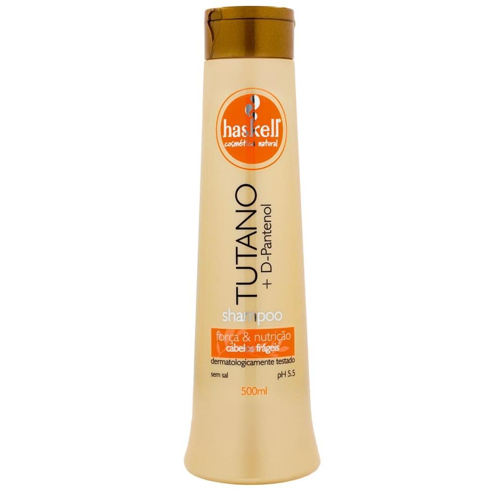 Shampoo Haskell Tutano com D Pantenol 500 ml