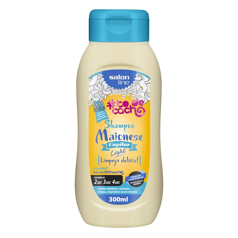 Shampoo Salon Line #ToDeCacho Maionese Capilar Light 300ml