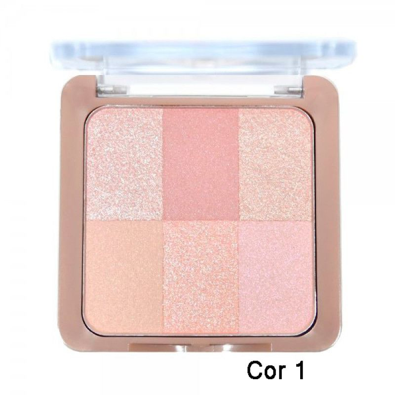 Soft Touch Blush Ruby Rose cor 1