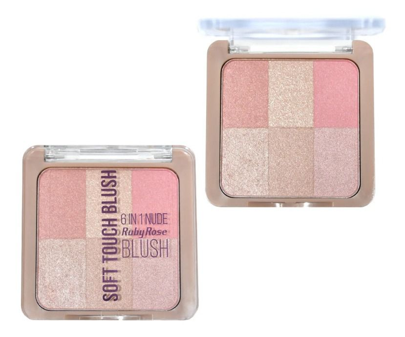 Soft Touch Blush Ruby Rose cor 2