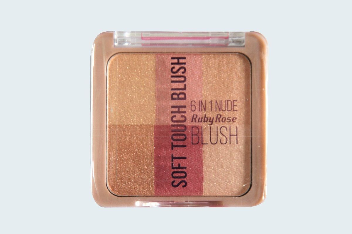 Soft Touch Blush Ruby Rose cor 4