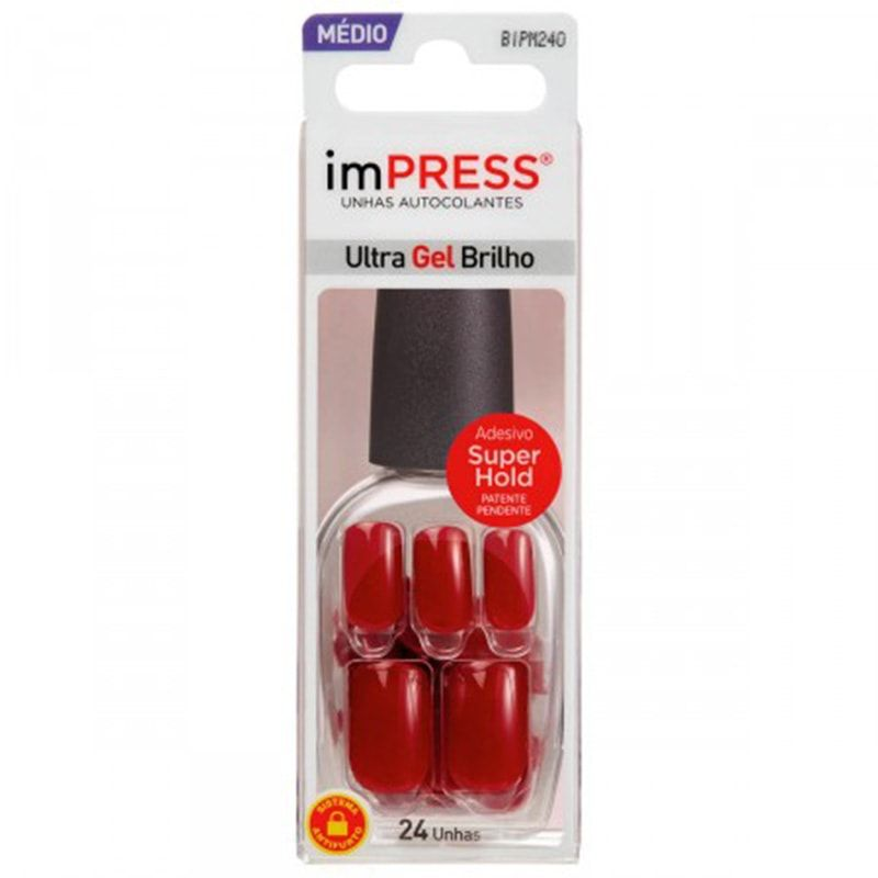 Unhas Autocolantes Kiss New York Impress  Message Me