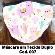Máscara em Tecido  Cod. 007