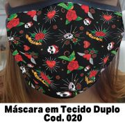 Máscara em Tecido  Cod. 020