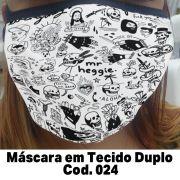 Máscara em Tecido  Cod. 024