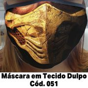 Máscara em Tecido  Cod. 051