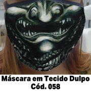 Máscara em Tecido  Cod. 058