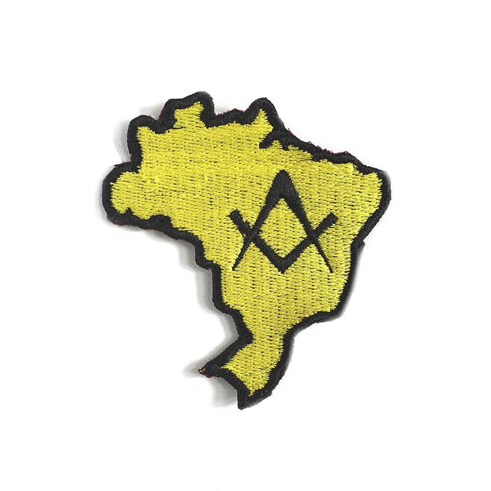 Bordado Mapa Brasil