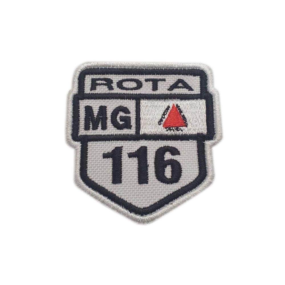 Bordado Rotas 116 MG