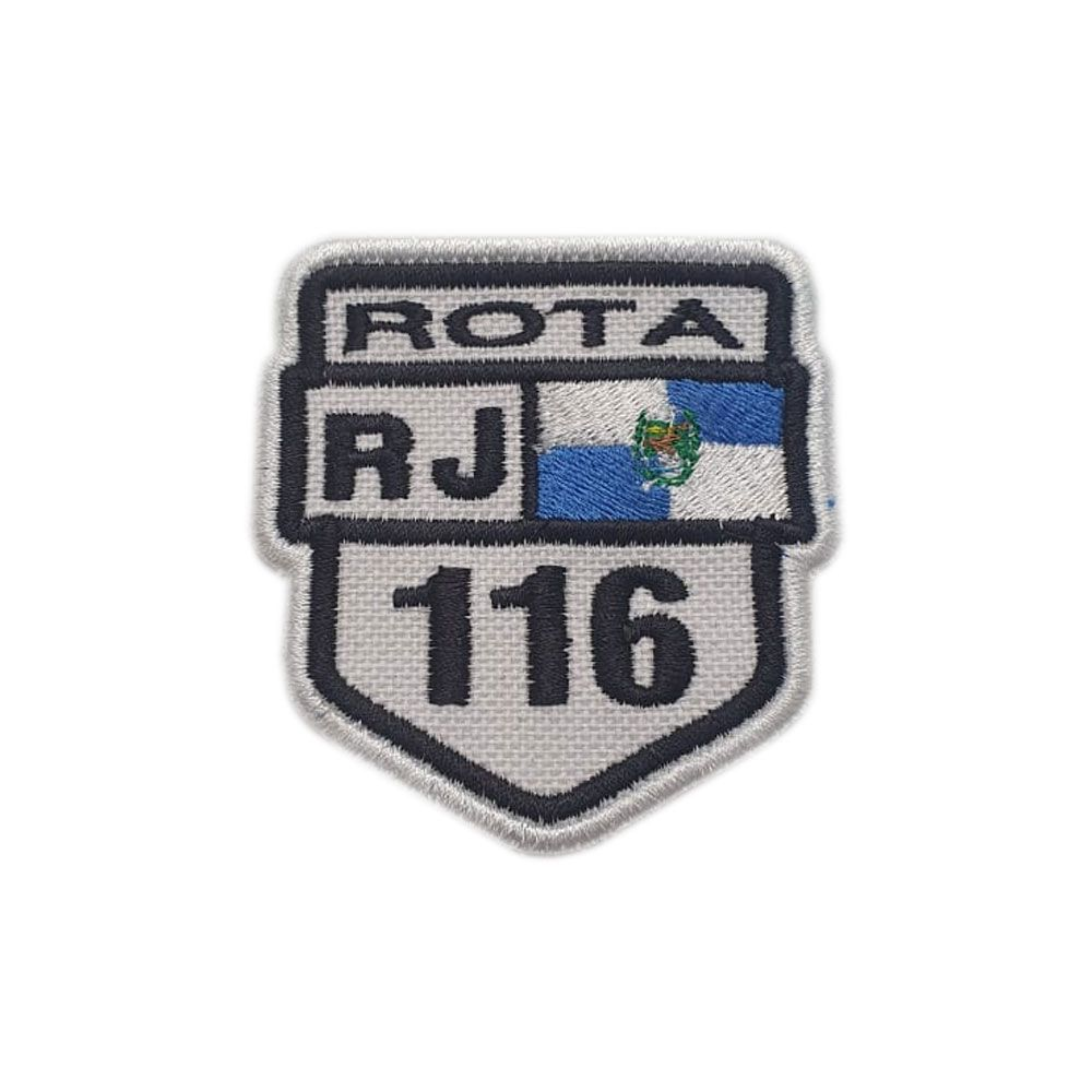 Bordado Rotas 116 RJ