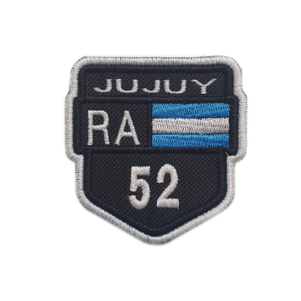 Bordado Rotas Jujuy RA 52 Argentina