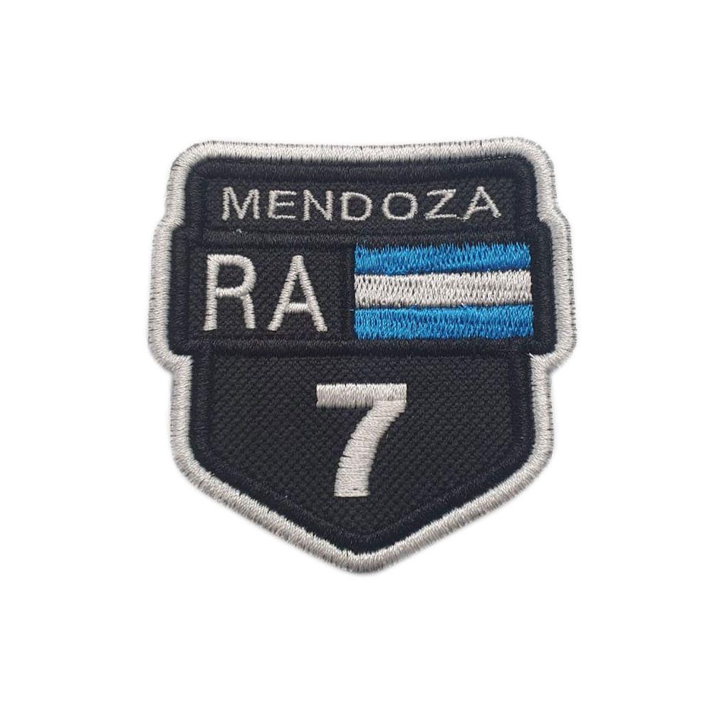 Bordado Rotas Mendonza RA 7 Argentina